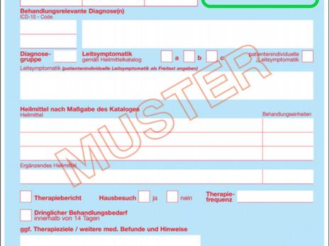 Neue Heilmittelrichtlinie startet zum 01.01.2021