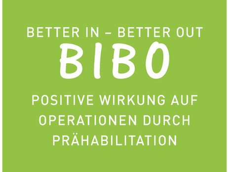 BIBO - schneller fit nach der Operation