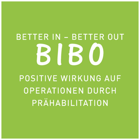 BIBO - schneller fit nach der Operation