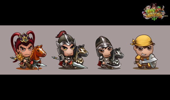 3Kingdom War_Character Design