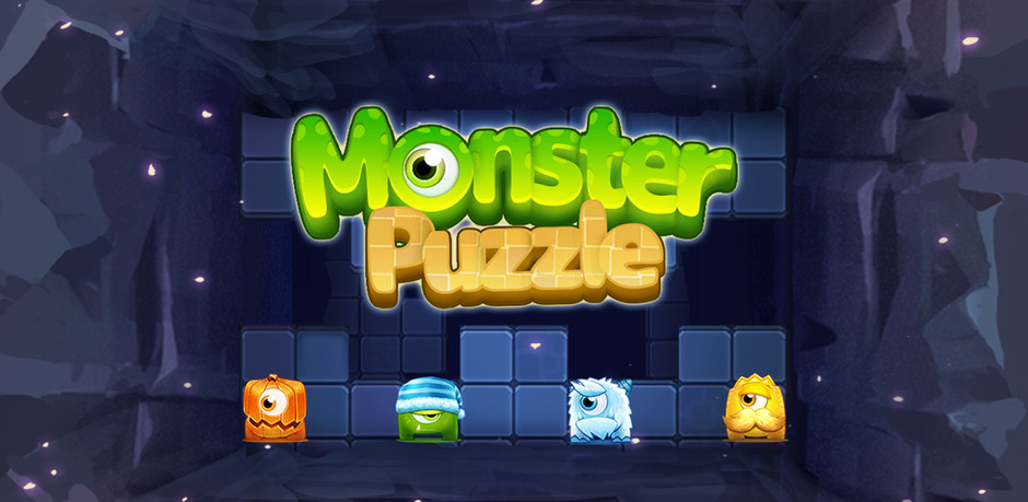 Monster Puzzle_Index page design