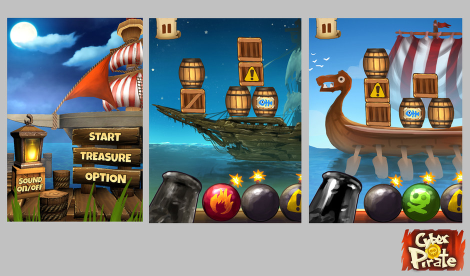 Cyber Pirate_UI Design