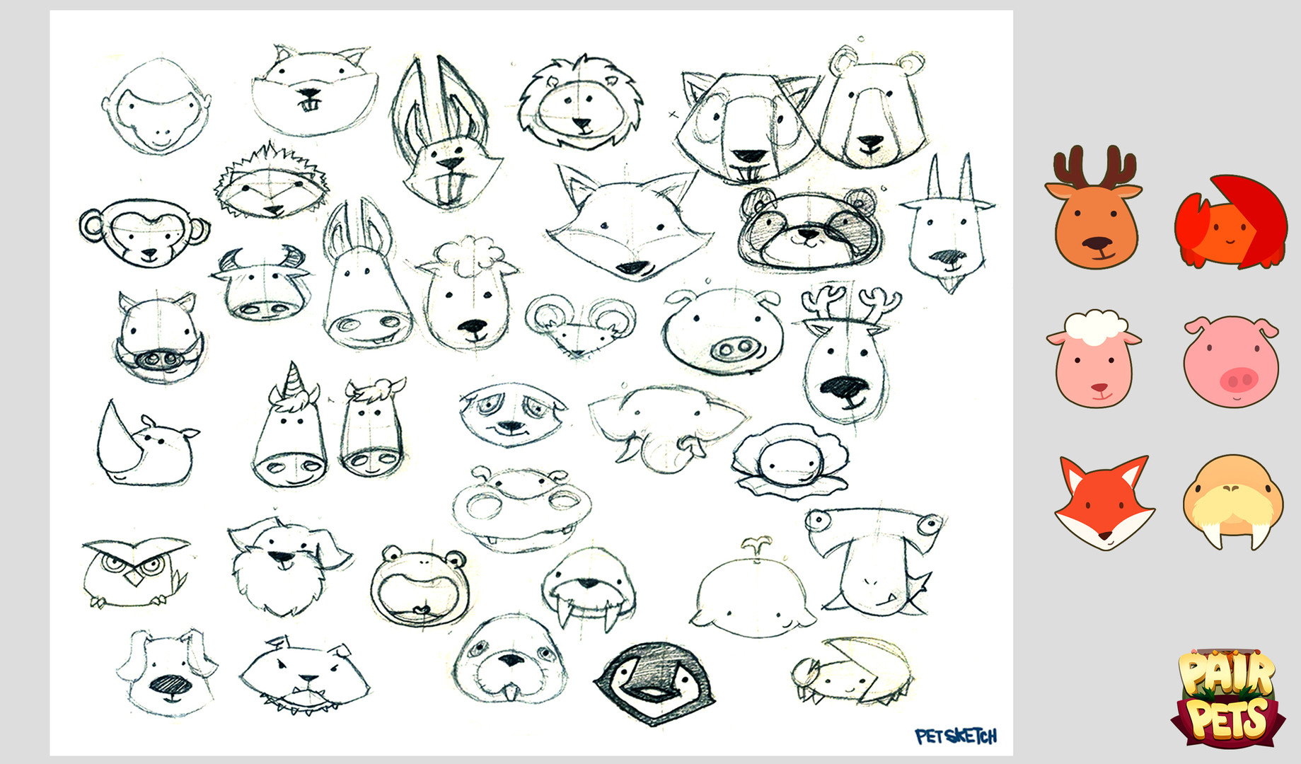 PairPets_Sketch