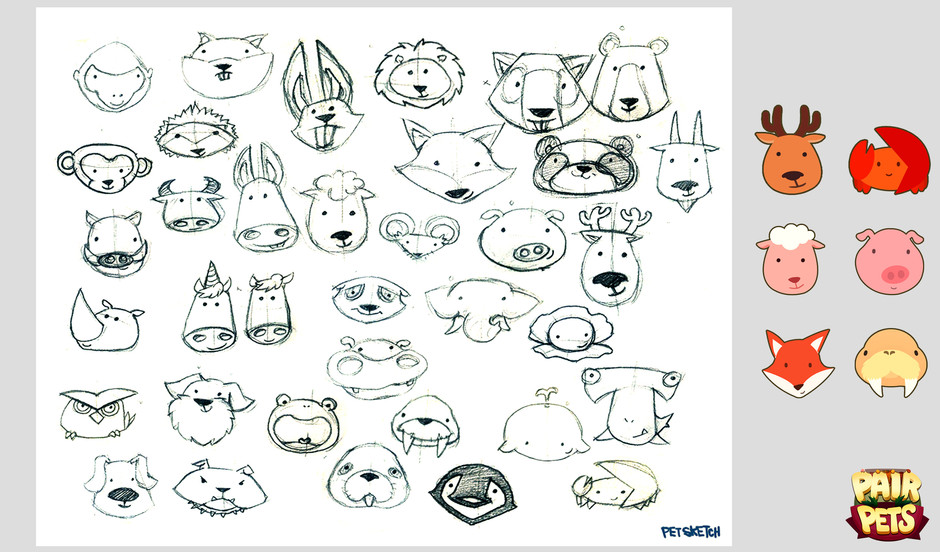 PairPets_Character Design