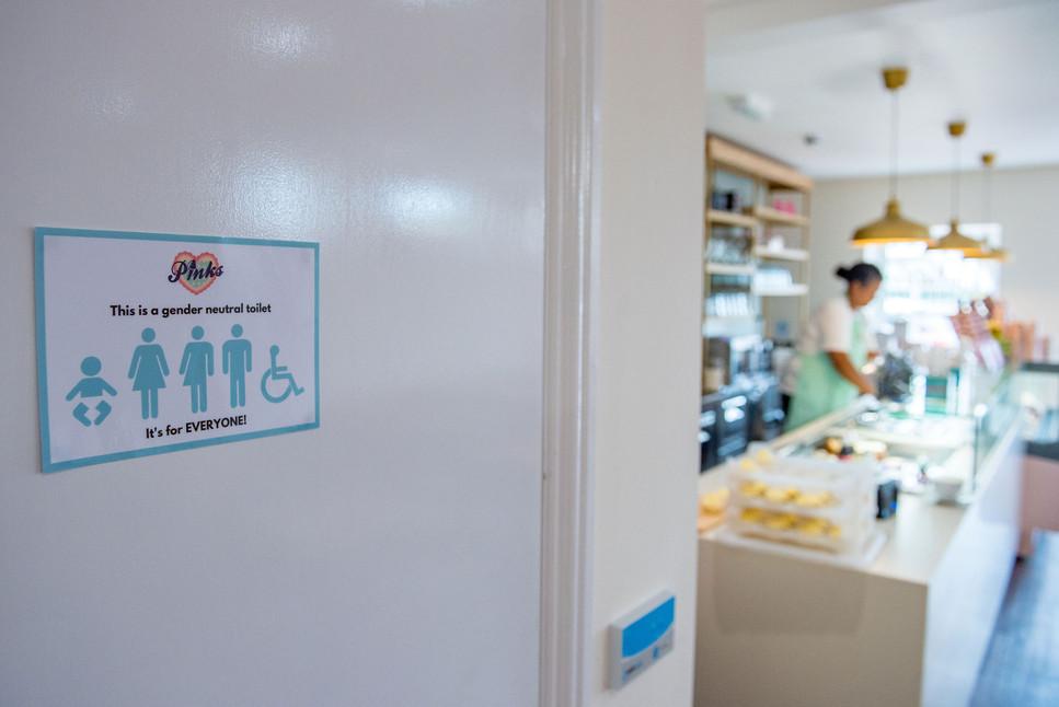Pinks Parlour Bognor Regis Gender Neutra