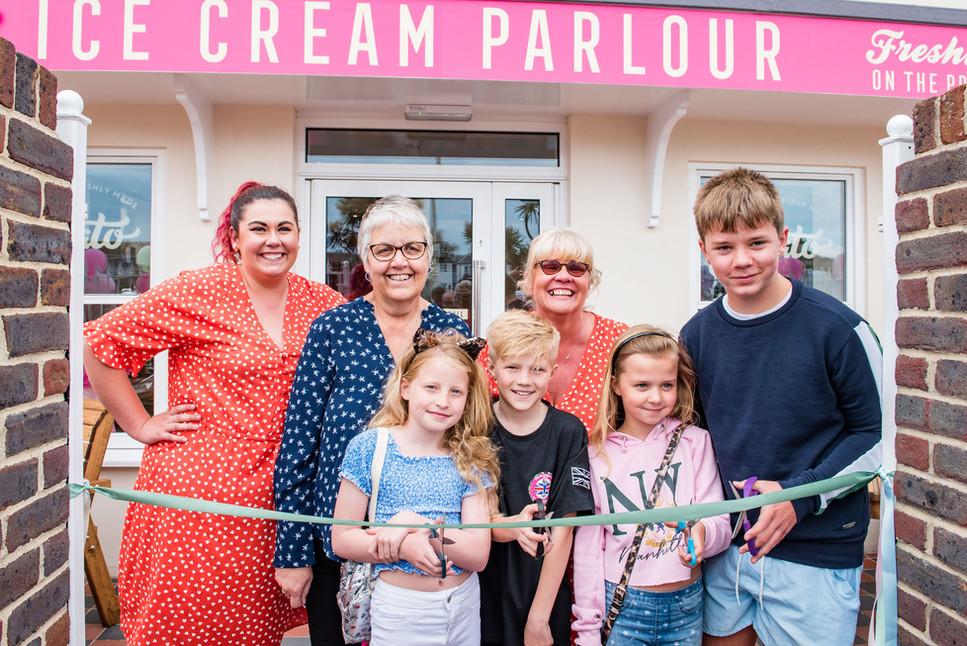 Pinks Parlour Bognor Regis Grand Opening