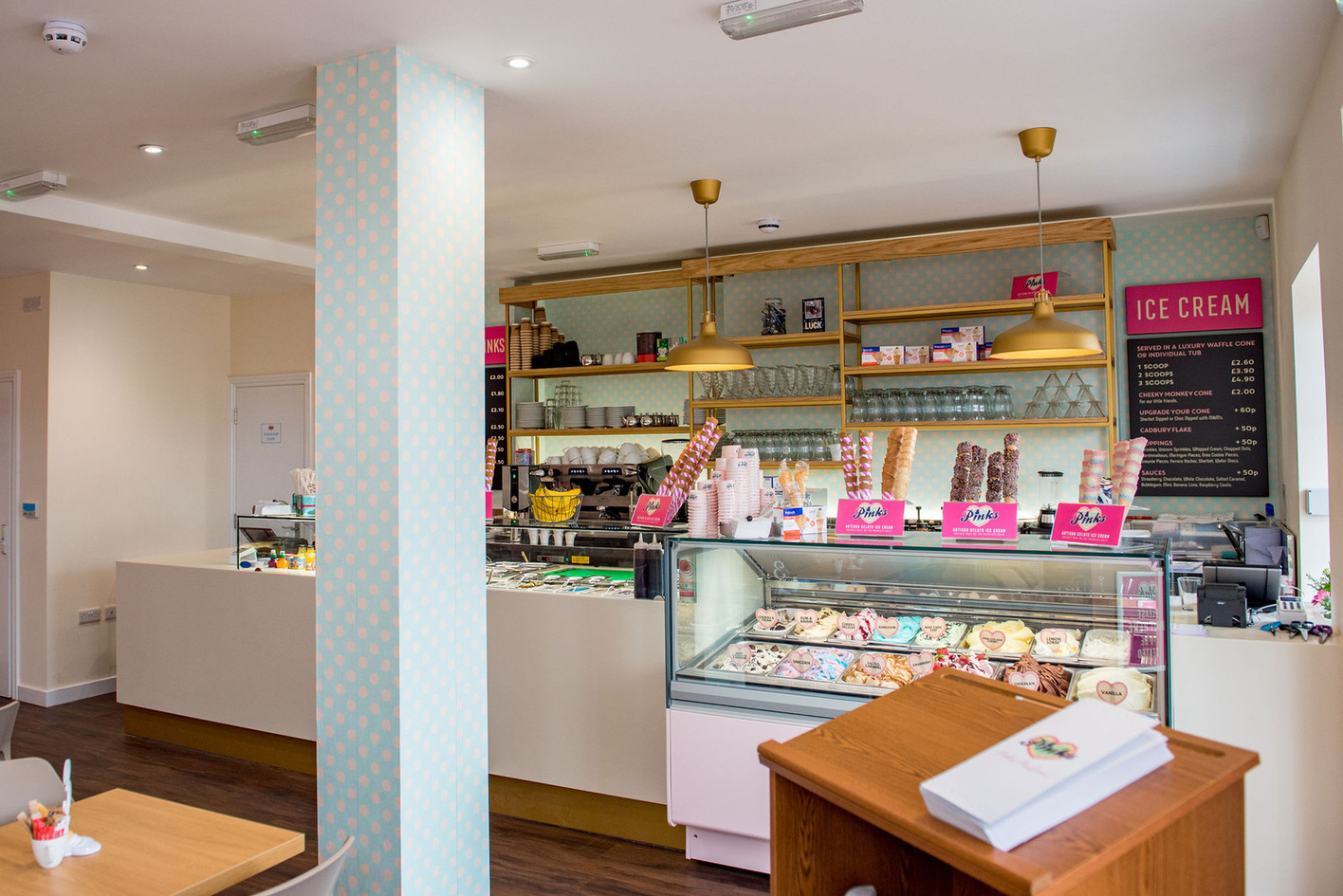 Pinks Parlour Bognor Regis Interior View