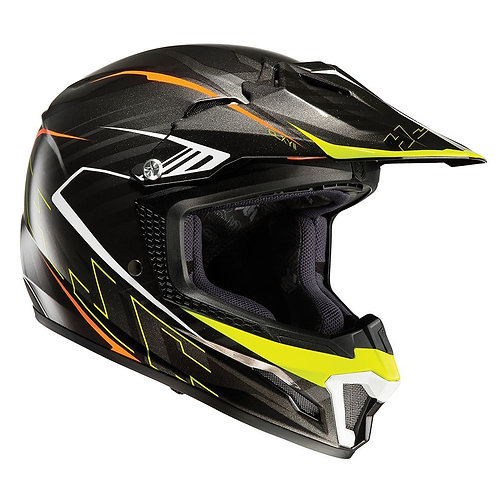 HJC CL-XY II Youth MX Helmet Blaze Black