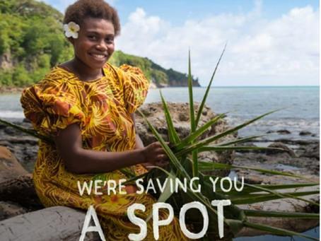 VANUATU IS SAVING A SPOT FOR YOU!