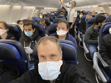 IATA to Travellers: MASK UP!