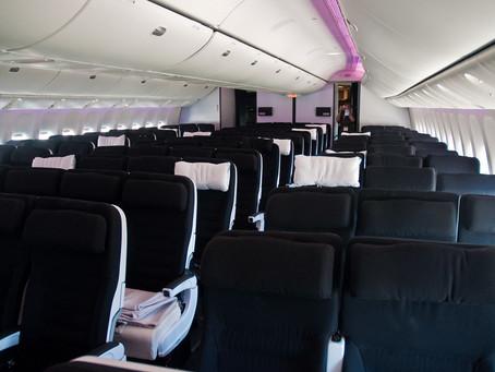 Air travel 'not the same as a public bus'