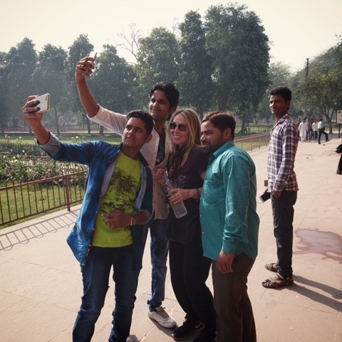 Photo Bomb...India Style