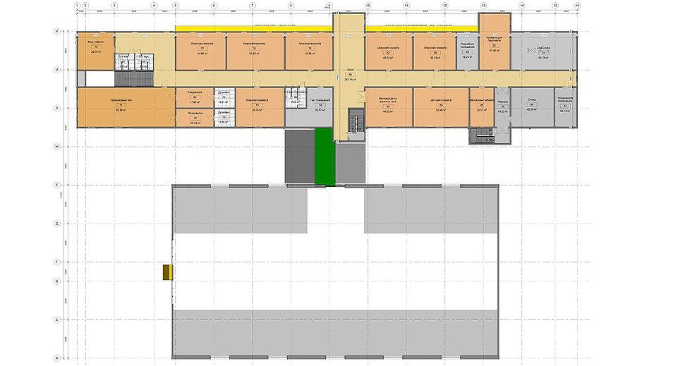 План административного здания