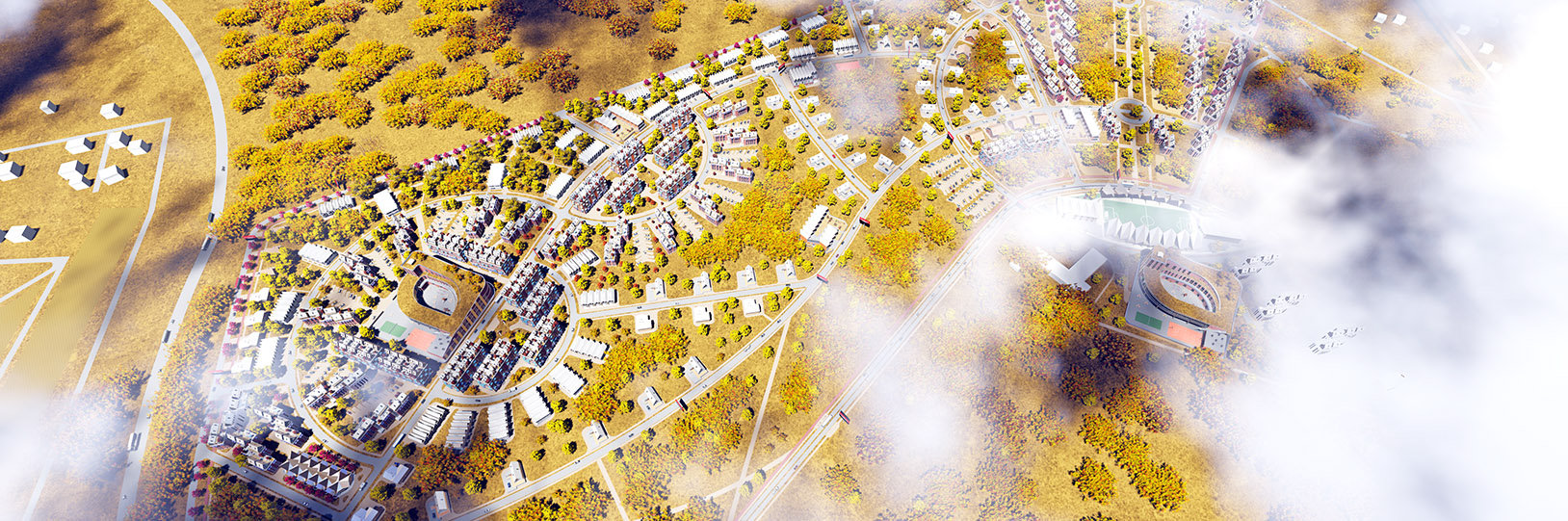 Проект микрорайона Светлый город
