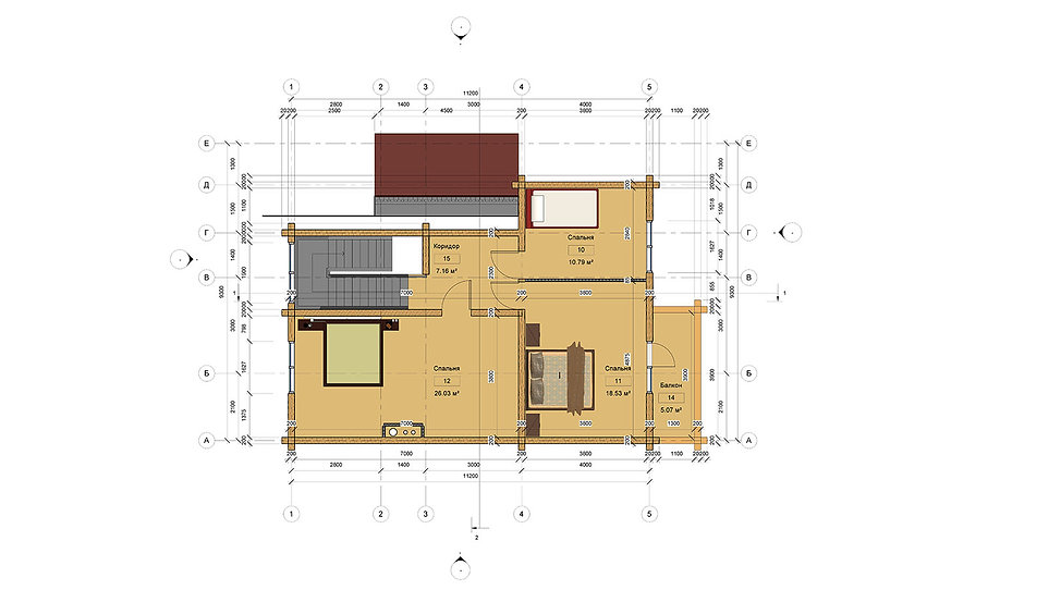 План жилого дома до 200 м2