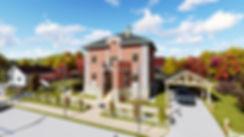 Классический жилой дом