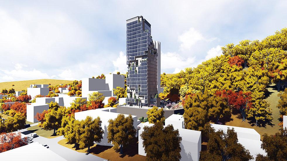 Проект высотного здания
