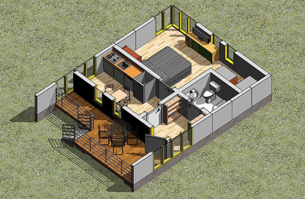 3д план дома