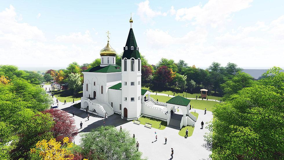 Проект храма во Владивостоке