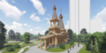 Деревянный храм во Владивостоке