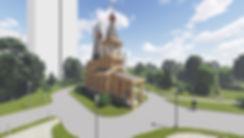 Проект храма из бруса