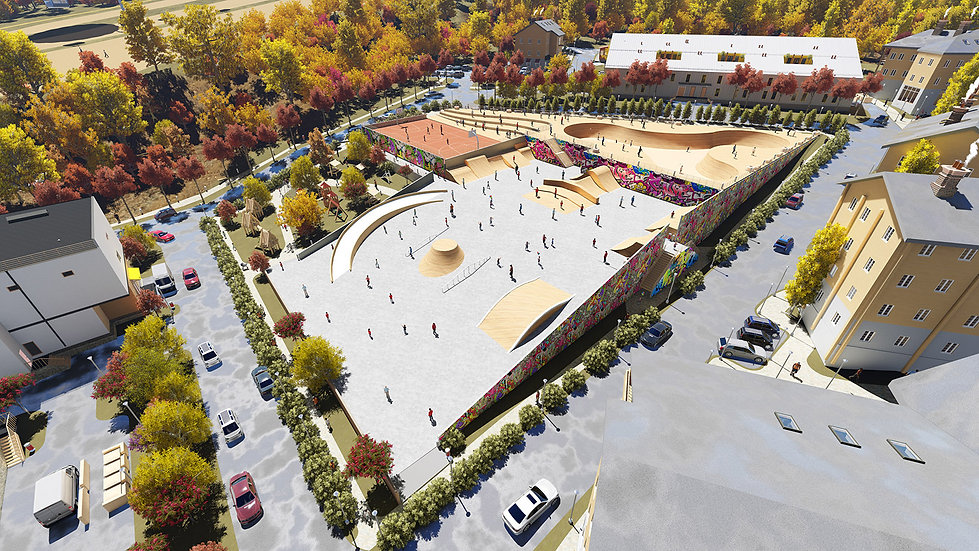 Проект скейт парка