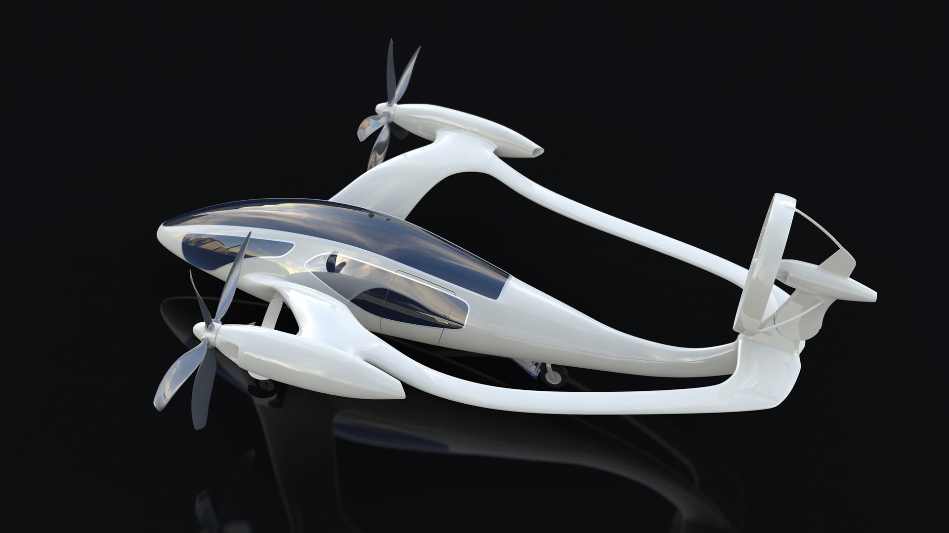 electric propulsion air taxi flying magn