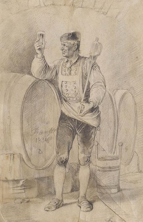 Johann Matthias Ranftl – Die Weinprobe