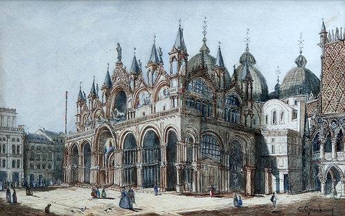 Carlo Grubacs – Basilica San Marco in Venedig