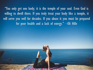 Your body is a temple!
