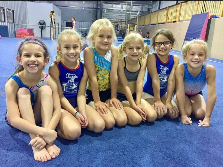 children gymnasts
