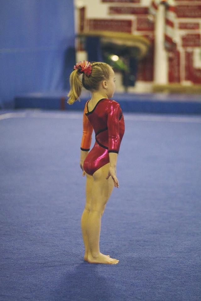 5yr old gymnast