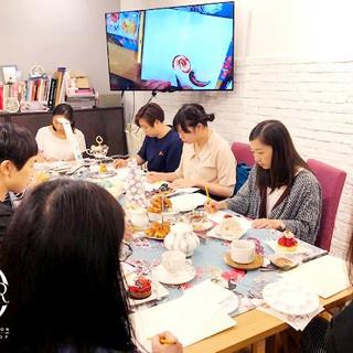High tea watercolour sketching workshop2