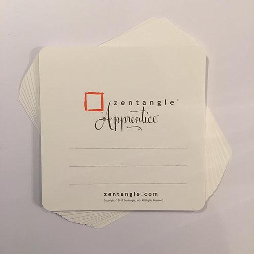 Zentangle Apprentice Tiles - 4.5 inches 10pcs
