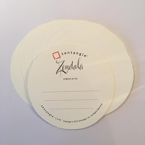 Zendala White Tiles - (20pcs / pack)