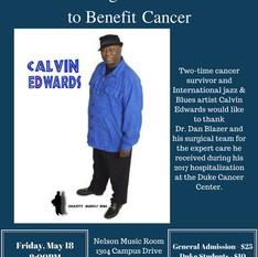 Calvin Edwards - A Night of Jazz Flyer (