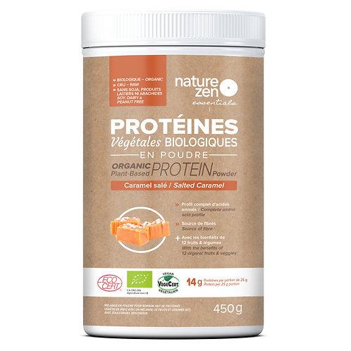Bio-protéines crues NZ essentials CARAMEL salé - 450g