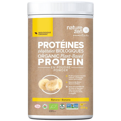 Bio-protéines crues NZ essentials BANANES - 450g