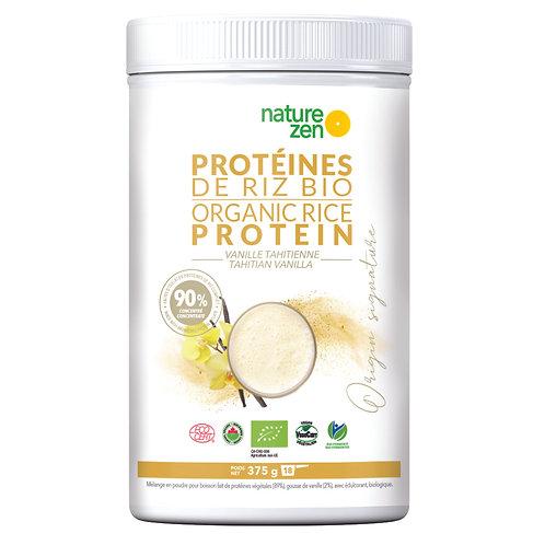 Bio-Protéines de riz VANILLE 375g