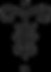 Ce sigle familial reprend les initiales de Jean, Frédérique, Moreau et Thoby tout en stylisant la forme d'un Cornus controversa