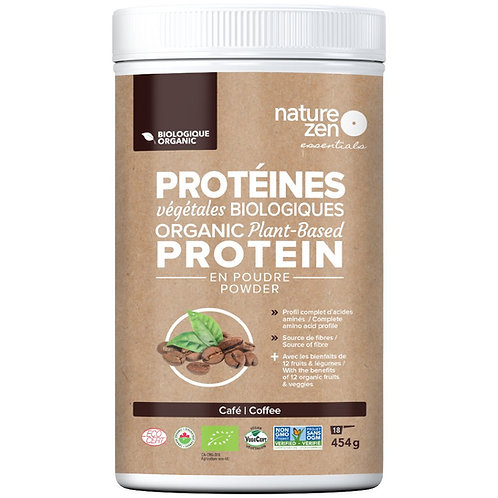 Bio-protéines crues NZ essentials café - 454g