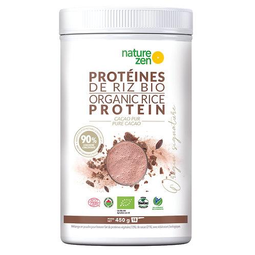 Bio-Protéines de riz CACAO 450g
