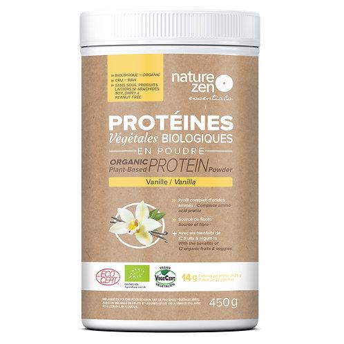 Bio-protéines crues NZ essentials VANILLE - 450g