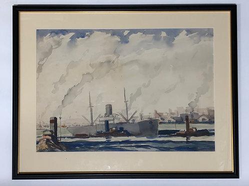 Edward Vance Warren - Painting Watercolor