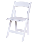 White wedding chairs, folding chairs, wedding seating rentals, Beaverton Party Rentals, Beaverton Wedding Rentals, Beaverton event Rentals, Portland Party Rentals, Portland Wedding Rentals, Wedding chair Rentals, Linens Rentals
