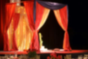 NW Events, wedding event venue, custom mandap, Hillsboro, OR