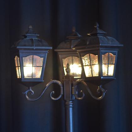 3 Lantern Street Lamp
