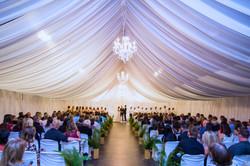 Full Drape Wedding