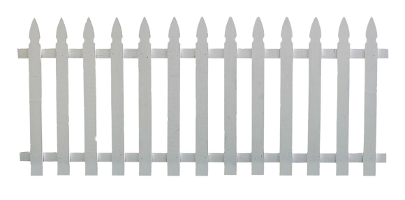White Picket Fence - Per Ft Price