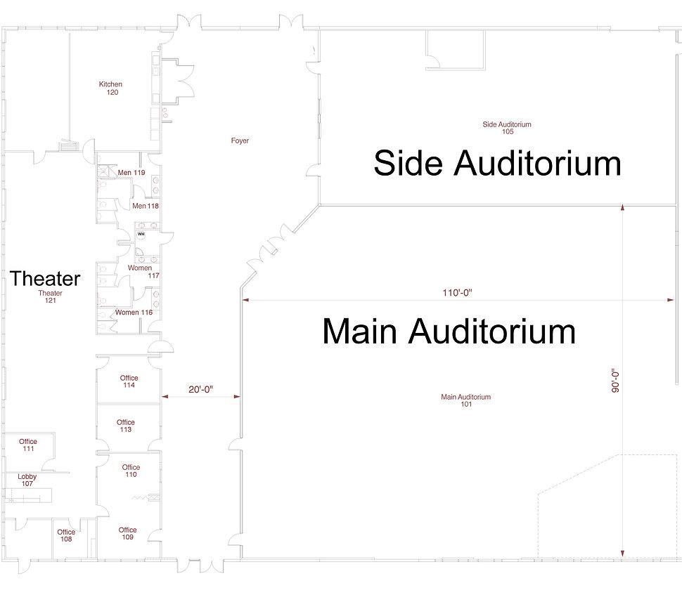 venue layout